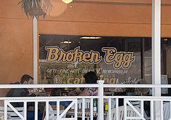 Broken Egg in Siesta Key Village